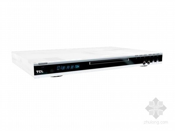 VCD播放器3D模型资料下载-高清DVD播放器3D模型下载