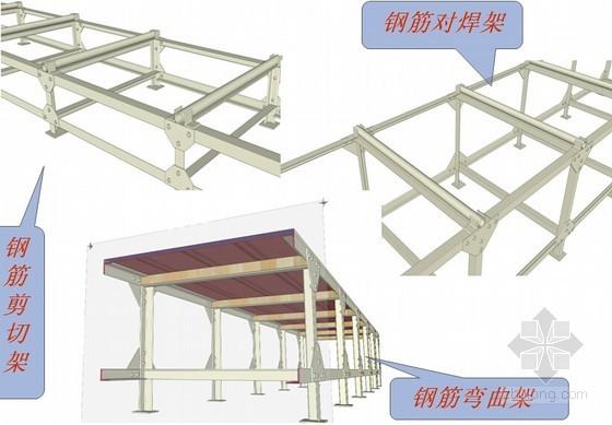 [QC成果]钢筋加工架改造施工技术成果汇报