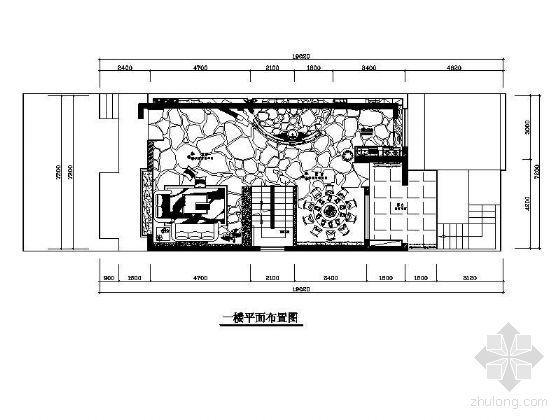 小型别墅平面布置图