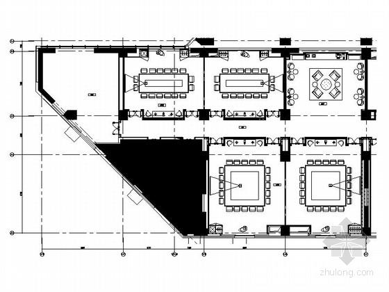 [上海]嘉定区新中式五星级酒店会议室装修施工图(含效果)