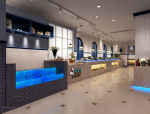 【店铺】6套混搭、欧式风格展厅店铺3D模型合集