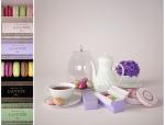 马卡龙下午茶餐具模型