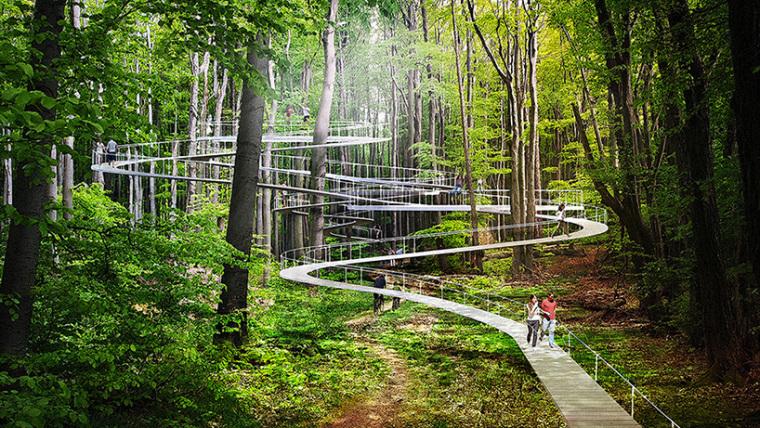 土耳其公园的总体规划