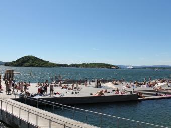 挪威漂浮公园