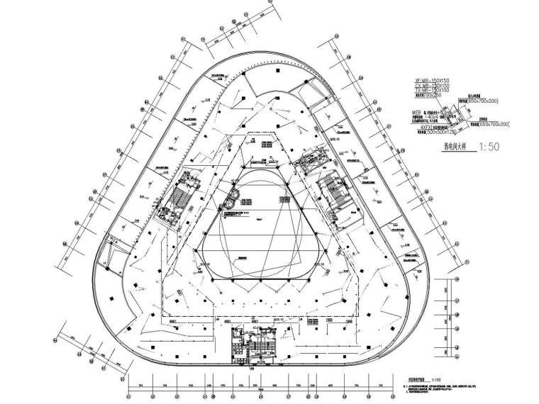 [福建]办公商业综合楼电气施工图(含节能专项)