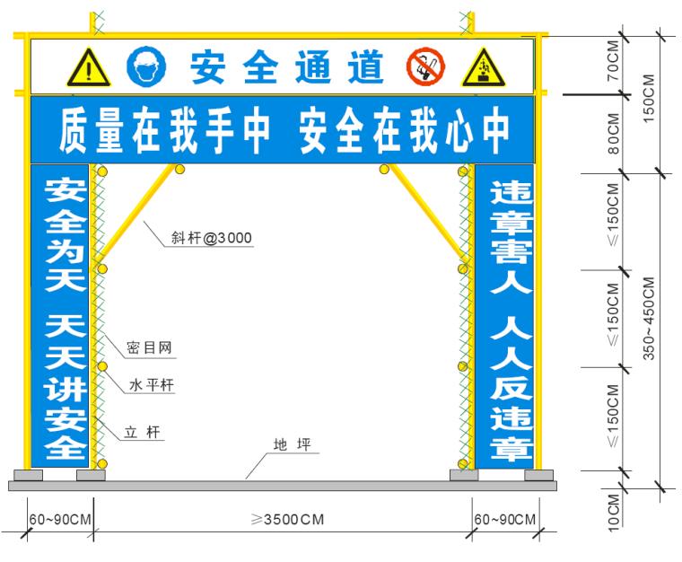 建筑施工企业项目CI规范执行手册(65页,标杆企业编制)