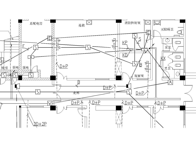某医院电气强弱电施工图(包括护理呼应信号系统图)_7