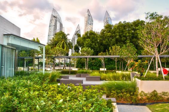 新加坡吉宝湾丽珊景住宅景观设计_16