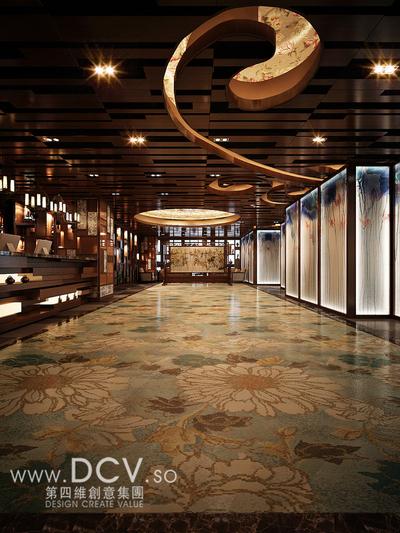 西安唯一的青花主题餐厅设计-太子轩_4