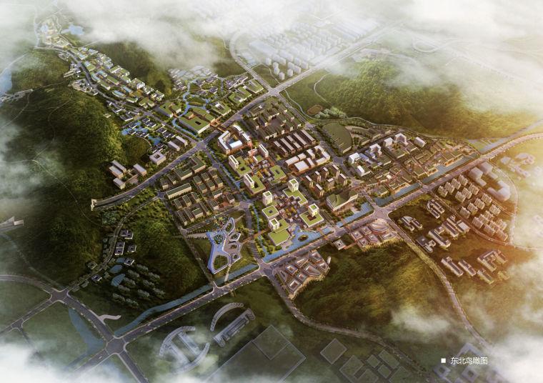 [浙江]阿里云创业创新基地——云栖小镇规划设计方案文本