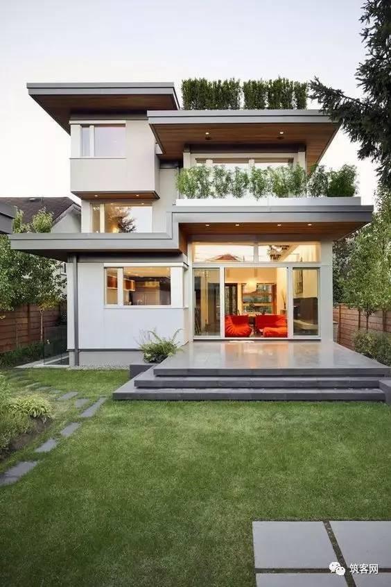40款·简洁的现代别墅设计_23