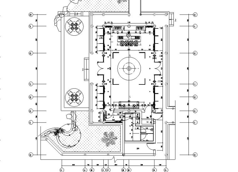 [江苏]高端顶级会所设计施工图(附效果图)