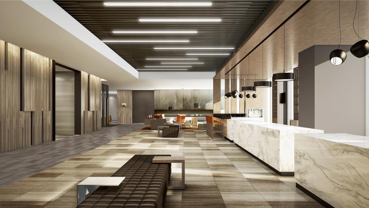 毕路德BLVD-河南洛阳凯悦酒店CAD平面+设计方案+效果图+官方摄影