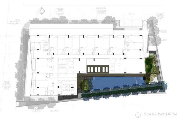 VIA49大楼公共景观——有趣的栅栏_12
