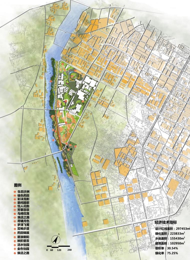 焕河计划——崇州西河滨河空间景观规划设计_1