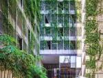 """三角模块垂直花园""""城市绿洲"""""""