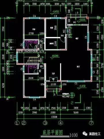 [图文并茂]私人住宅(别墅)设计施工案例