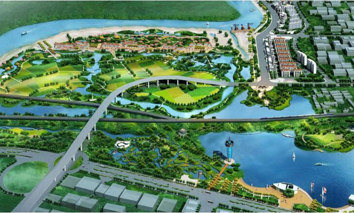 [安徽]芜湖罗福湖公园景观设计方案