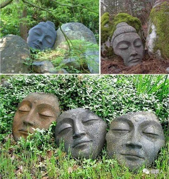 花园景观·石器小景_3