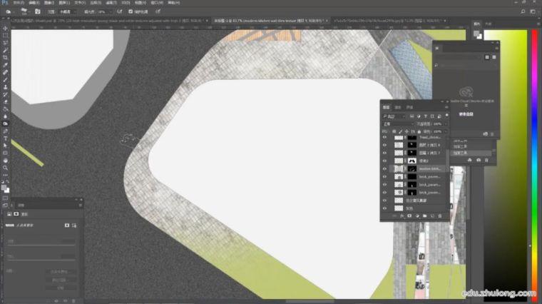 如何一张好看的小清新景观平面图?(步骤详解)_10