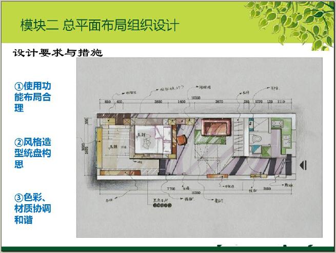 住宅楼居住空间室内设计讲解(图文并茂)