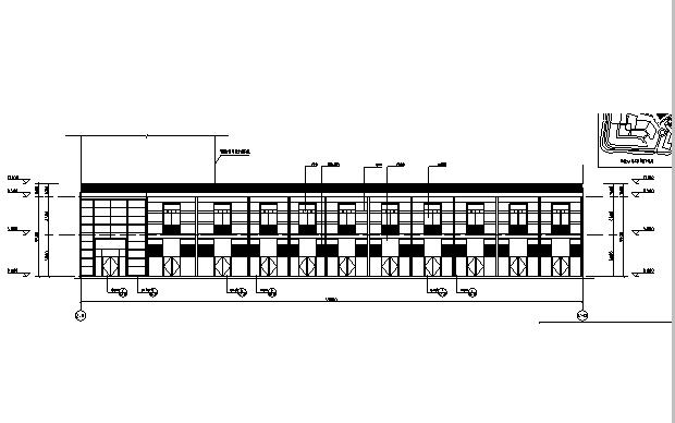 [广东]高层养生商业广场建筑施工图(含全专业图纸)_5