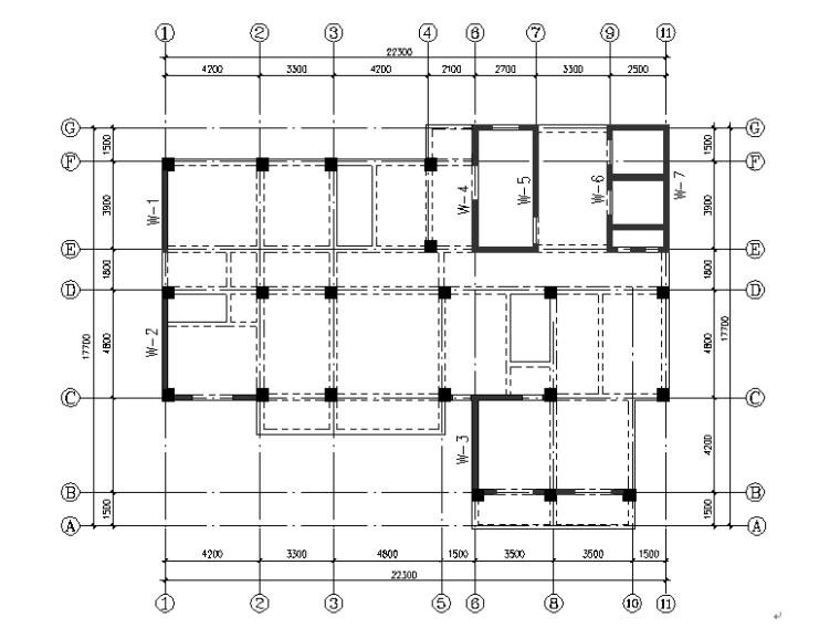 高层住宅楼建筑结构设计(校优秀毕业设计)