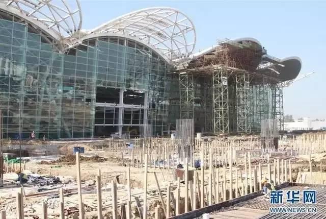 北非阿尔及尔新机场--钢结构航站楼成长记录