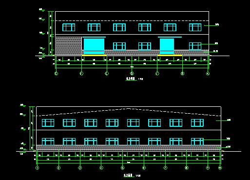 门式刚架带夹层结构二层厂房建筑结构施工图_2