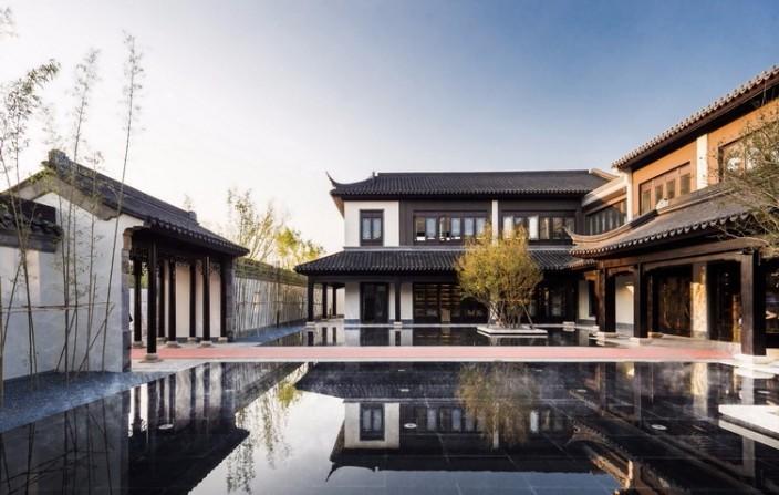 西安蓝光长岛国际社区景观