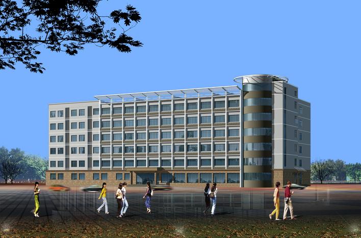 宿迁市医院病房楼电气系统图