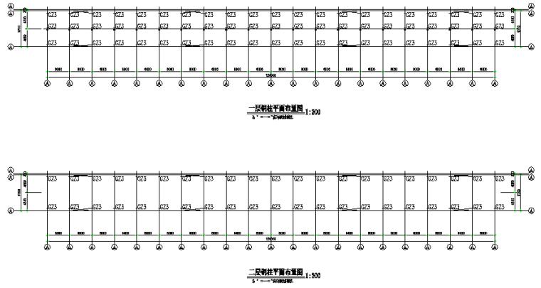 [四川]成都某工程门式刚架结构施工图(CAD,6张)