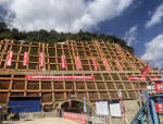 世界最大跨径山区悬索桥完成隧道锚开挖!