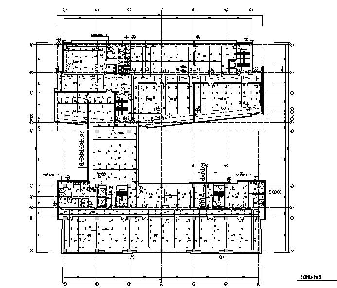 办公楼建筑给排水设计施工图(带计算书)