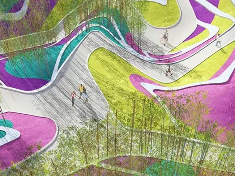 景观地形设计经典案例赏析