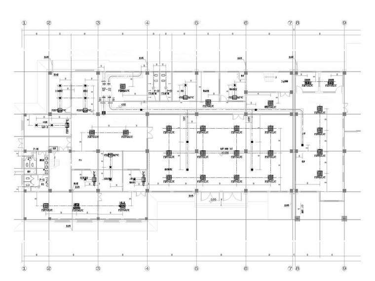 [陕西]多层技术办公大楼空调通风及防排烟系统设计施工图