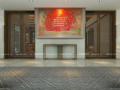 具有民族特色的内蒙古·兴安盟乌塔其银行室内设计效果图