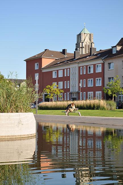 德国埃森大学公园景观设计_14