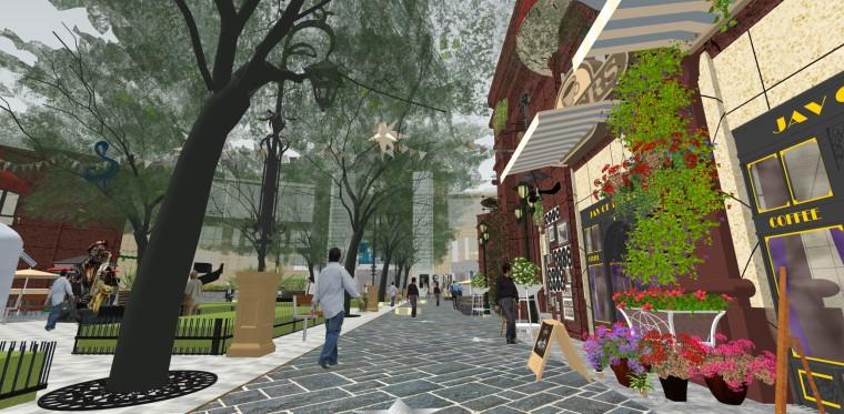 [体验式商业街改造设计]常州天鹅湖音乐小镇_42