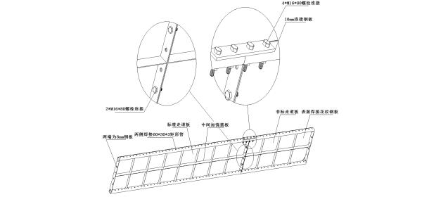 高层建筑全钢附着式升降脚手架(爬架)施工方案_1