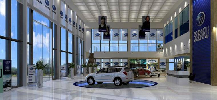 (原创)汽车4S店室内设计案例效果图-汽车4S店 (8)