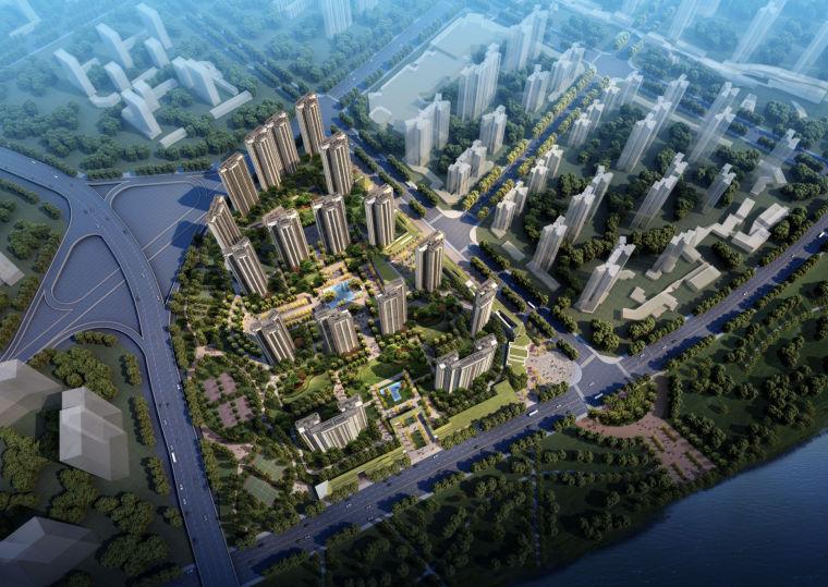 [上海]知名地产·公园里居住区建筑设计方案文本