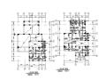 3层框架结构别墅建筑结构施工图(CAD、16张)