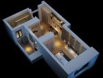 现代公寓3D模型下载