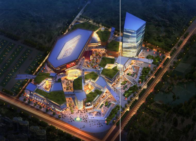 [徐州]科技广场西侧地块规划设计(CAD+文本)