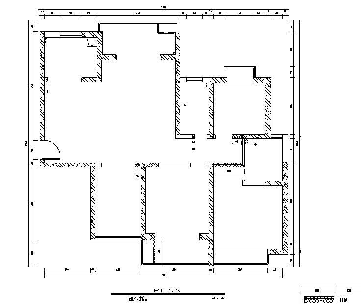 日式风格三居室住宅设计施工图(附效果图)