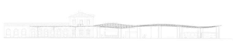 埃斯林根汽车站周围景观立面图 (12)