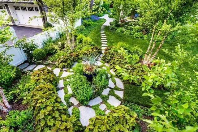 庭院设计怎么做?掌握要点,人人都能做出高端精致私家庭院!_2