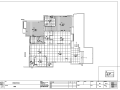 武汉沿海赛洛城大都会风格C1型示范单位室内设计施工图