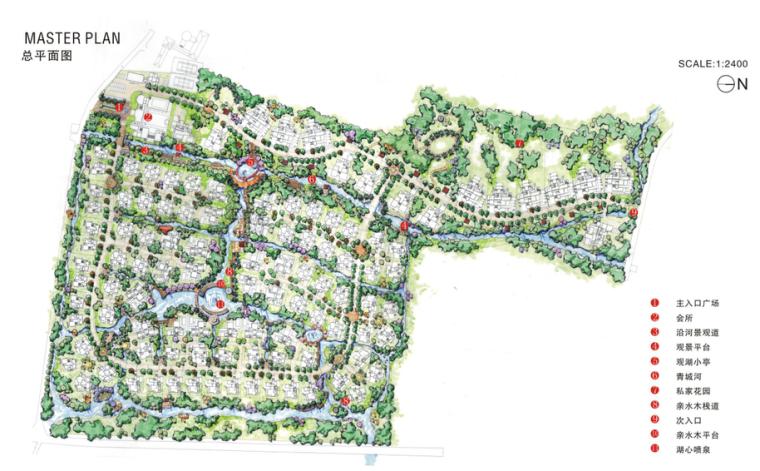 [四川]都江堰某高尔夫别墅区景观概念设计|泛亚国际